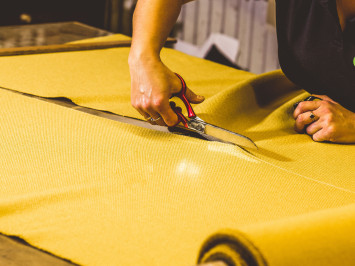 The Craftsmanship Behind Luxury Furniture - Part 3: Cutting and Sewing Department  preview image.